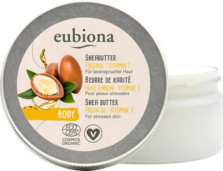 Masło shea z olejem arganowym i witaminą E