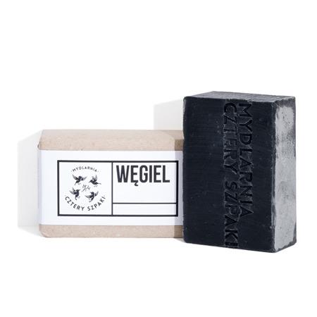 Mydło WĘGIEL z węglem aktywnym