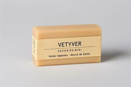 Mydło z masłem shea dla panów VETYVER (Wetiweria)