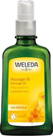 Olejek do masażu i pielęgnacji ciała z nagietkiem